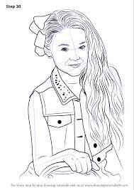 Step By Step How To Draw Jojo Siwa Drawingtutorials101com