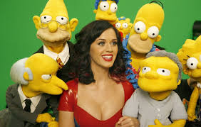 Katy Perry The Simpsons Promo Photo Wall paper Full HD.