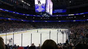 Lightning Hockey Seating Chart Breakdown Of The Amalie Arena Seating Chart Tampa Bay