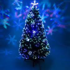 7ft Black PreLit Colour Fibre Optic Christmas Tree Blue  White Black Fiber Optic Christmas Tree