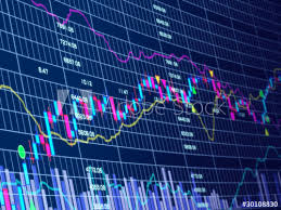 3d Stock Chart 3d Blue Stock Chart Buy This Stock Illustration And