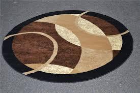 image of round contemporary area rugs luxury
