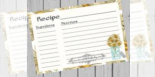Full Page Recipe Templates 43 Amazing Blank Recipe Templates For Enterprising Chefs