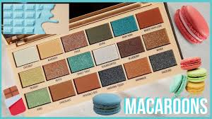 macaroons chocolate palette review i heart revolution jessica rowlands