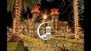 St Augustine Lights Hours St Augustine City Of Lights Cigit Karikaturize Com