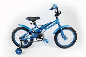 Детский <b>велосипед Stark</b>'<b>20 Tanuki</b> 16 Boy голубой/белый