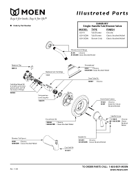 moen shower faucet parts contemporary moen shower valve repair diagram elaboration