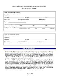 Bon Secours My Chart Fillable Online Proxy Request Form My Bon Secours Fax