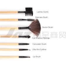 32 wood club professional make up brush set makeup artist makeup hair brush microfiber high grade