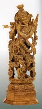 krishna shivaniwood statue of karnataka india image source