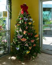 A Florida Butterfly Christmas Tree | MOSI Outside