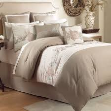 seas comforter set beige