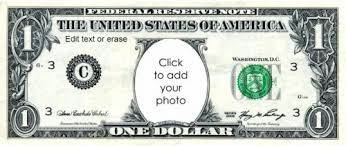 Money Bill Template Free Custom Printable Play Money Template Instant Download