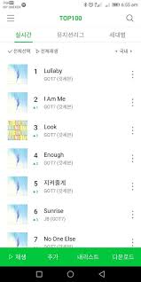 Naver Music Chart Top 100 Naver Music Chart Got7 Amino