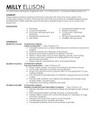 General Labor Resume General Resume Objective Statements Here Are