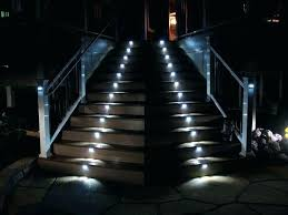 outdoor stairs lighting. Led Stair Lights Outdoor Lighting Cool Step  Home Depot Deck Illuminating Stairs S