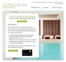 Ritz Carlton Rewards Chart Ritz Carlton Credit Card Offer Free Night After 2 000 In