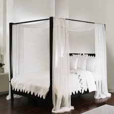 Canopy Curtains For Bed | Wayfair