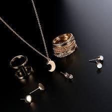 TIDOO Jewelry 12PCS Gold Moon Pendant Charms ... - Amazon.com