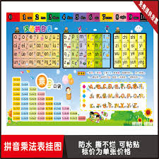 Usd 6 49 Primary School Students Pinyin Math Multiplication