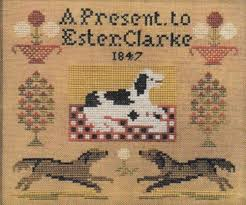 A Present To Ester Clarke from The Scarlett House