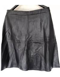 faux leather skirt forever 21