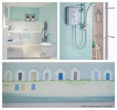 Beach Theme Bathrooms Beach Themed Bathroom Decor Pinterest Beach Themed Bathroom Rugs