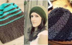 Hipster Beanie Crochet Pattern Adorable 48 Crochet Slouchy Beanie Patterns AllFreeCrochet