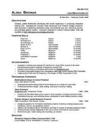 good job skills computer trainer examples proficiency resume job skills examples