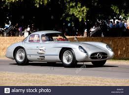 1955 Mercedes 300 SLR Uhlenhaut Coupe at the Festival of Speed ...