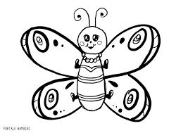 Farfalle Da Stampare E Colorare Per Bambini Migliori Pagine Da