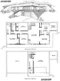 Underground House Concept  Stone Wing V6   The Underground Home Earth Shelter Underground Floor Plans