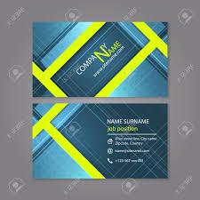 Professional Business Card Templates Professional Business Card Template Design Or Visiting Card Set