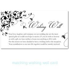 wedding invitation wording for money instead of gifts