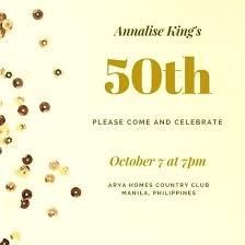 50th Birthday Invitations Templates 50th Birthday Invitation Template Invitations Templates With