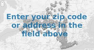 enter your zip code or address in the field above