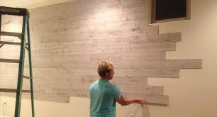 l and stick wood panels provide an