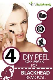 diy l off mask for blackhead removal