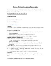 The Resume Writer Resume Work Template