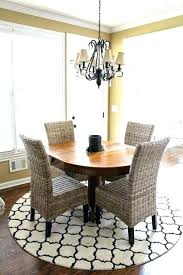 round table for kitchen round rug sizes dining room rugs size under table kitchen kitchen table