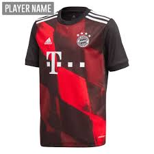 Mix & match this shirt with other items to create an avatar that is unique to you! Adidas Youth Bayern Munich Third Jersey 20 21 Black