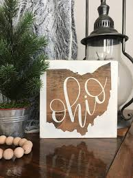 wooden state wall art fresh ohio sign wood state sign ohio t ohio wall art ohio