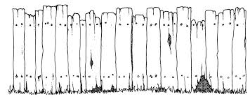 fence drawing. And In Color Filefence Psfpng Wikimedia Commons Fences Drawing How To Draw Fence N