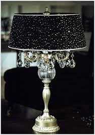 fanciful black bedside table lamp 5 candle light classic italian chandelier pertaining to attending function and