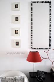DIY Easy Glass Tile Mirror Frame Find A Way by JWP