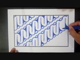 Download now gambar batik sederhana dan mudah digambar untuk anak sd grosir dp. Belajar Membuat Batik Motif Parang Dengan Mudah Dan Cepat Youtube