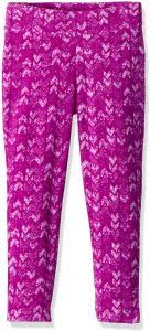 Plum Size Chart Columbia Big Girls Glacial Printed Legging Bright Plum Arrows Print S