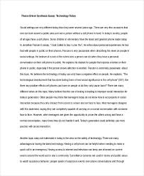 essay proposal template custom essay paper example of essay  synthesis essay examples samples technology synthesis