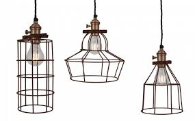 industrial style lighting fixtures home. buy industville simple vintage rusty cage wire pendant industrial style lights from the warehouse home online lighting fixtures t