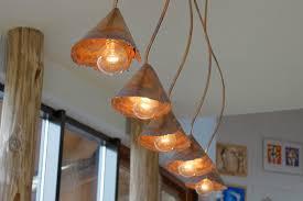 amazing copper light fixtures nice decoration beautiful rustic copper lighting by dutch designer willem simonis